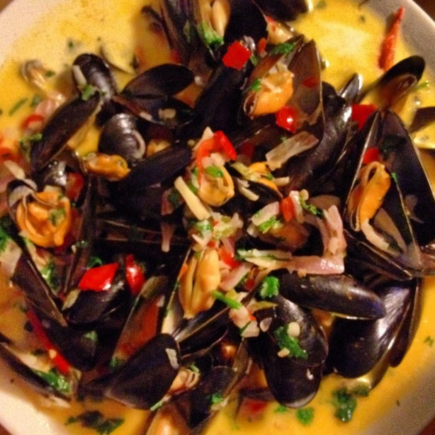 Brixham mussels