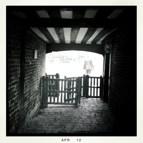 The lynch gate at Bray Church